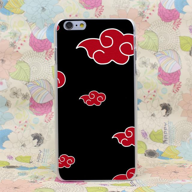 Naruto Akatsuki Hard Transparent iPhone Case Cover