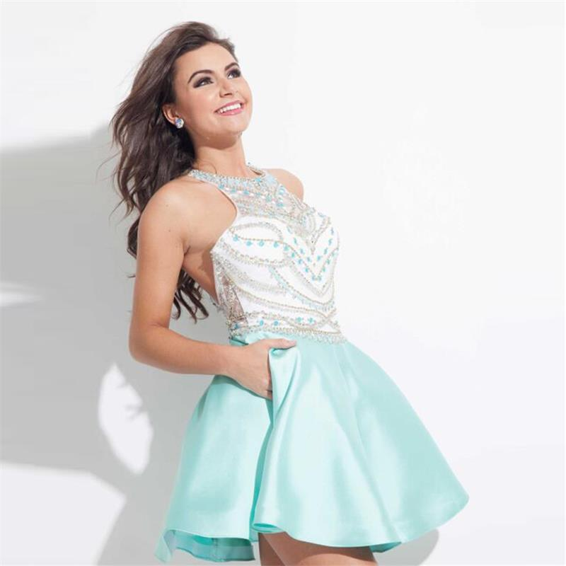 Blue Homecoming Dresses Cheap Promotion-Shop for Promotional Blue ...