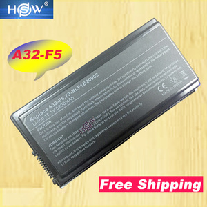 Image 1 - HSW 11.1v 6 cell Laptop Battery for Asus A32 F5 X50 X50C X50Gi X50M X50N X50R X50RL X50SL X50SR X50V X50VL 70 NLF1B2000Z