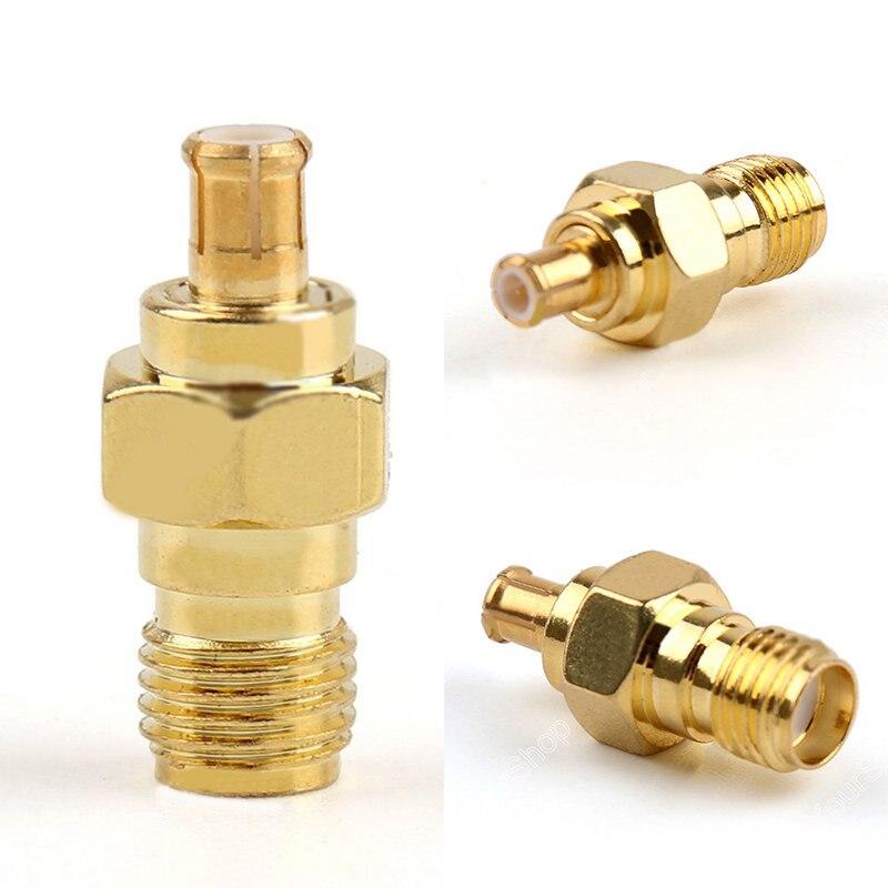 все цены на 1pc High Quality SMA Female Jack To MCX Male Plug RF Coax Adapter Gold Plating 50 Ohm Connector онлайн