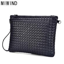 Men's Clutch Wallets Handy Bags Soft Leather zipper Purse Lo