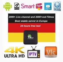 Европа IPTV Германия IPTV французский IPTV 2000 + жить свободно VOD Поддержка Android m3u enigma2 mag250 TVIP 2000 + Vod