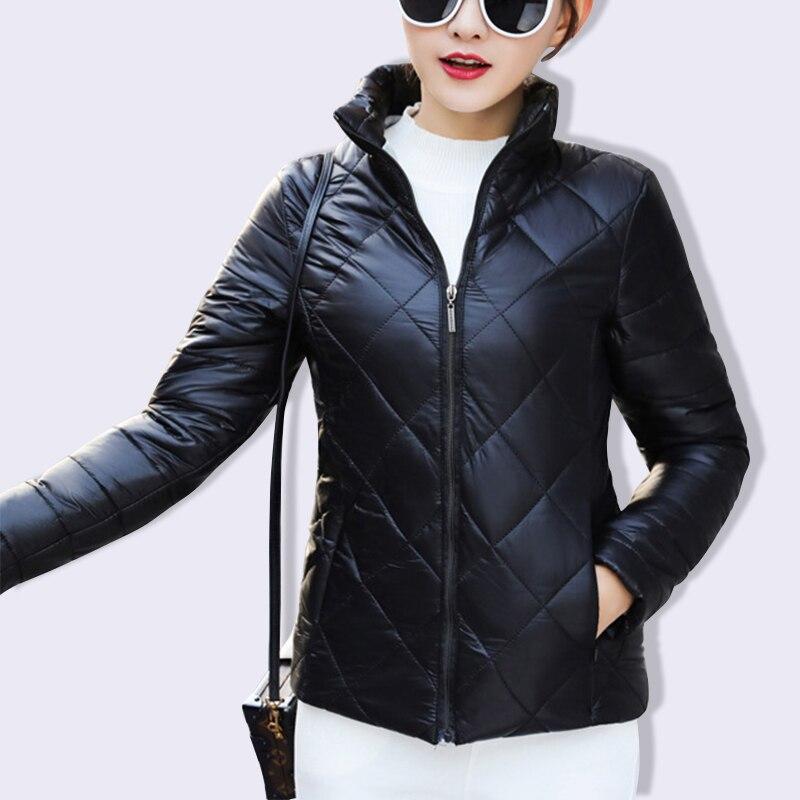 Acolchado Abrigo Negro Azul Algodón Luz Básico Ocasional Tamaño qwZHqr 98a05d7f22a6f