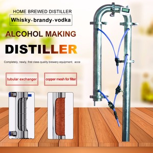 Image 2 - Distillation tower single sale with copper net household distillation brewing equipment alcohol manufacturing distillation tower
