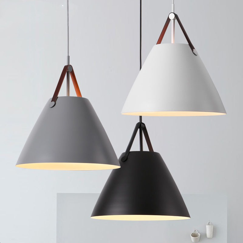 Modern Nordic minimalist Aluminum pendant lights LED Hanglamp Living Dinning Room Kitchen Bar Macaron LOFT Pendant Light Fixture dx vintage lights pendant antler metal pendant lights verlichting hanglamp bar pendant light dinning room