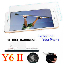 Tempered Glass For Huawei Honor Y6II Y6 II 2 y 6ii CAM-L23 CAM-L03 CAM-L21 CAM-AL00 CAM-UL00 CAM-TL00 Screen Protector SKLO CASE(China)