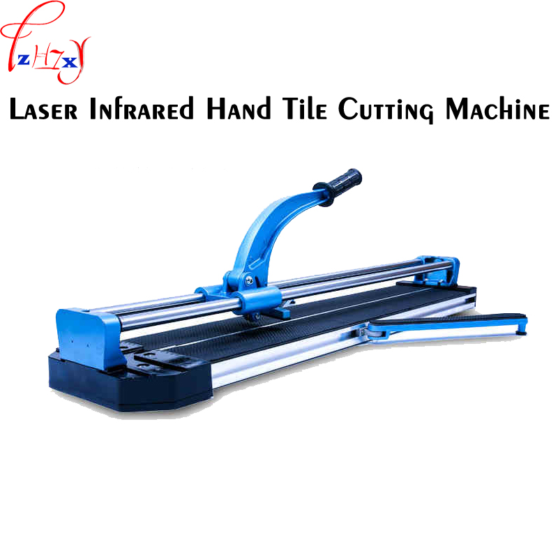 12V 800MM laser infrared manual tile cutting machine KH-800 push the tiles to push the knife profile cutting knife 1pc цена