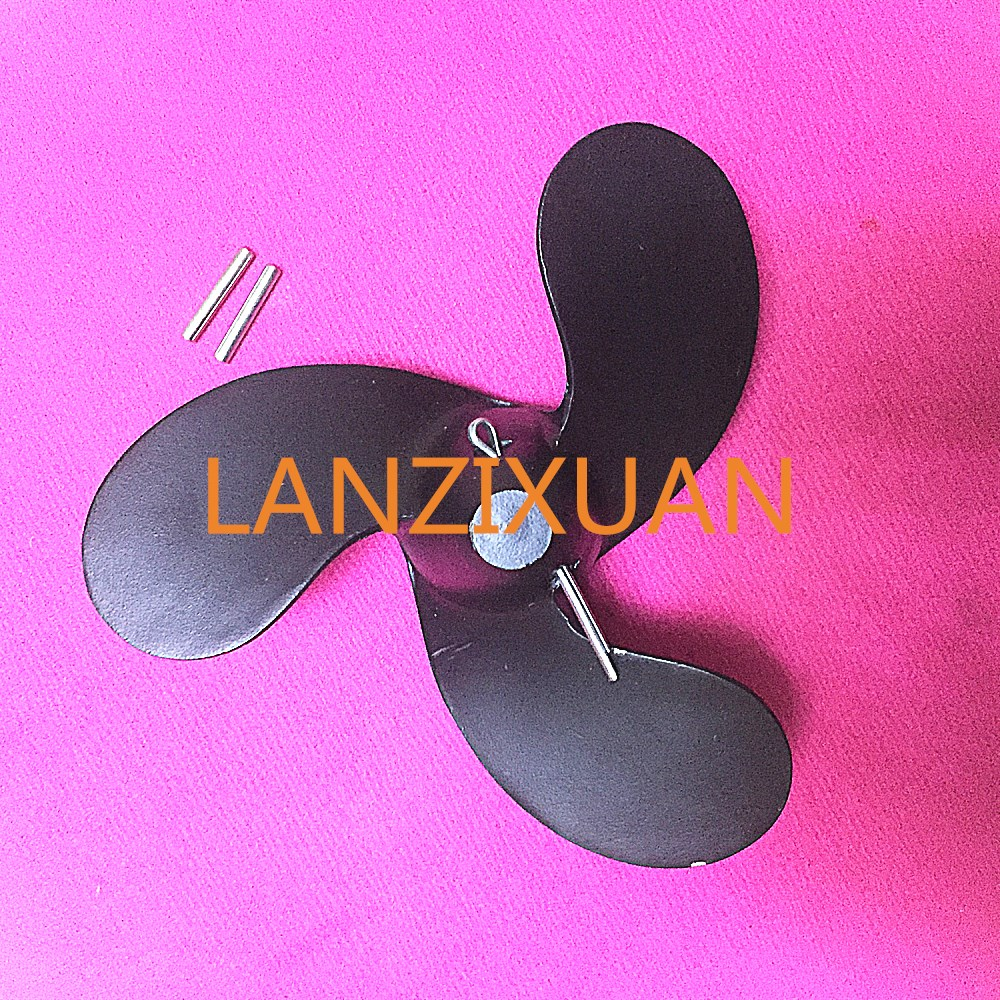 F6 309-64107-0 30964-1070M Aluminum Alloy Propeller for Tohatsu Nissan <font><b>2.5hp</b></font> 3.5hp / Mercury 3.3hp <font><b>outboard</b></font> <font><b>motors</b></font> 7.4 X 5.7 image