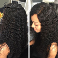 Water Wave Full Lace Human Hair Wigs For Black Women Malaysian Glueless Full Lace Wigs,Lace Front Human Hair Wigs With Baby Hair