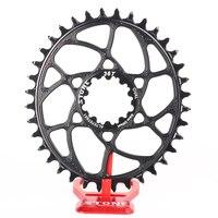 Камень MTB велосипеда Single Oval Chainring кольцо цепи для BB30 cx xx1 x9 x1 32 т 34 Т 36 т 38 т прямого монтажа 0 мм смещение звездочка