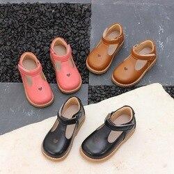Dziewczęce buty dziecięce trampki 2019 wiosna jesień księżniczka Party Dress buty maluch skóra pu dla dziecka dziewczyna obuwie w Skórzane buty od Matka i dzieci na