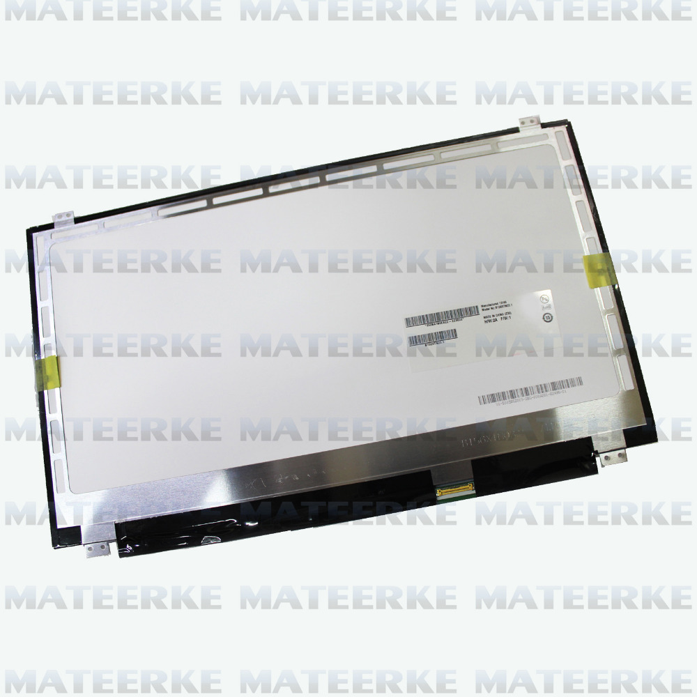 B156XW04 V.8 New 15.6 Ultra Slim eDP Panel WXGA HD LED Glossy LCD 30 Pin,free shipping