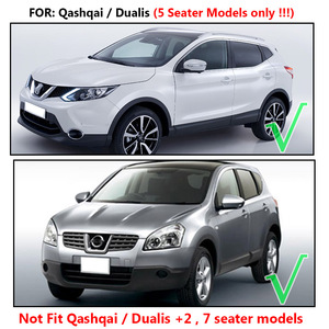 Image 5 - Aksesuarları Boot Liner kargo Mat için Fit Nissan Dualis Qashqai J10 2007 2008 2009 2010 2011 2012 2013 arka gövde tepsi kapağı