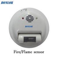 (1 шт.) 2000E провод пожарная сигнализация датчик пламени детектор ультрафиолета лучей детектор домашней безопасности Защита NC/без реле выходн