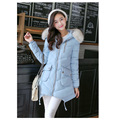 Cheap wholesale 2017 new Autumn Hot sale women's Winter fashion casual warm long warm down cotton Jacket students basic coats