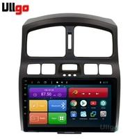 4G+64G Octa Core 9'' Android 8.1 Car DVD GPS for Hyundai Santa Fe 2001 2006 Autoradio GPS Car Head unit with RDS BT Mirrorlink