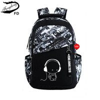 Fengdong модный бренд девушка школьный рюкзак usb мешок детей школьные сумки для мальчиков с рисунками для детей рюкзак для девочек рюкзак
