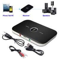 B6 2 en 1 transmisor receptor inalámbrico Bluetooth 4,1 Adaptador de Audio de 3,5mm para PC Smartphone receptor Bluetooth transmisor Aux