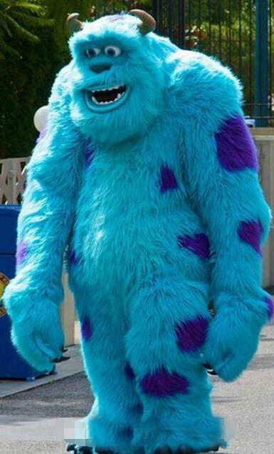 New Mascot Sully Mascot Head Costume Halloween Christmas Birthday Props Costumes Outfit Outfit Olome