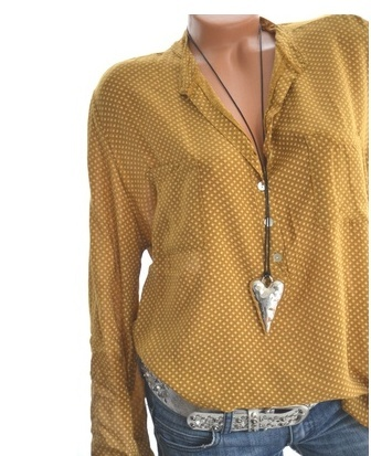 Plus Size Women's Fashion Casual Blouse Loose V-neck Long Sleeve Polka Dot Tops Loose Fitting Sexy Shirts
