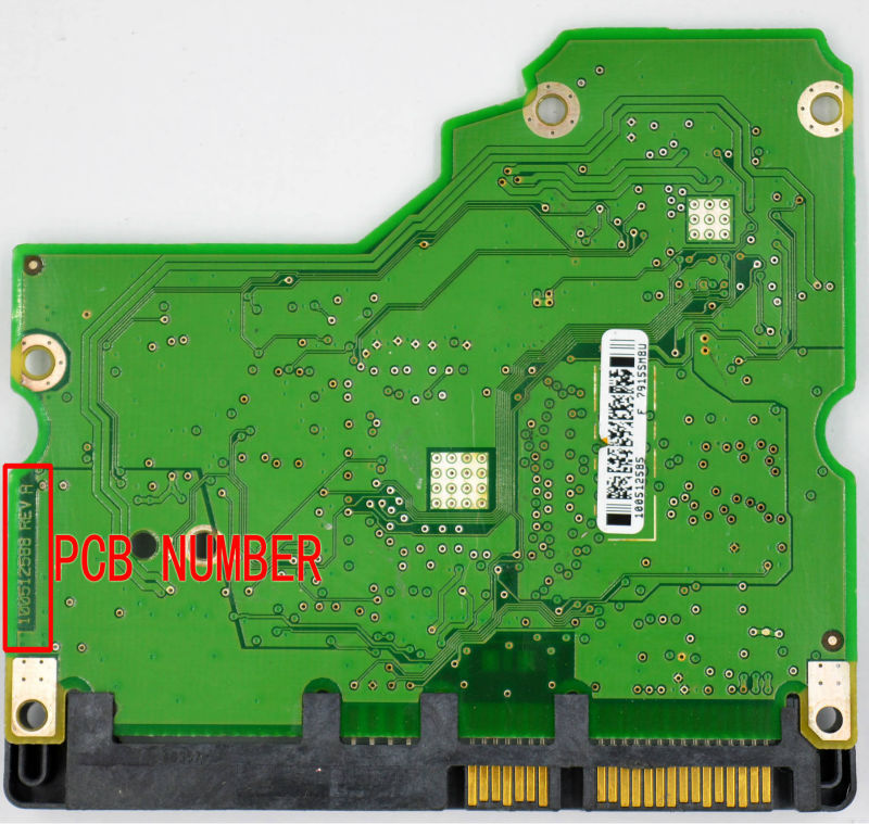 ST32000542as ST31000525SV HDD PCB for Seagate/Logic Board/Board Number:100512588