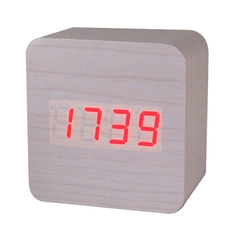 NEW-Retro-LED-display-Alarm-Clock-electronic-desktop-Digital-table-clocks-despertador-Temperature-Sounds-Control-wooden