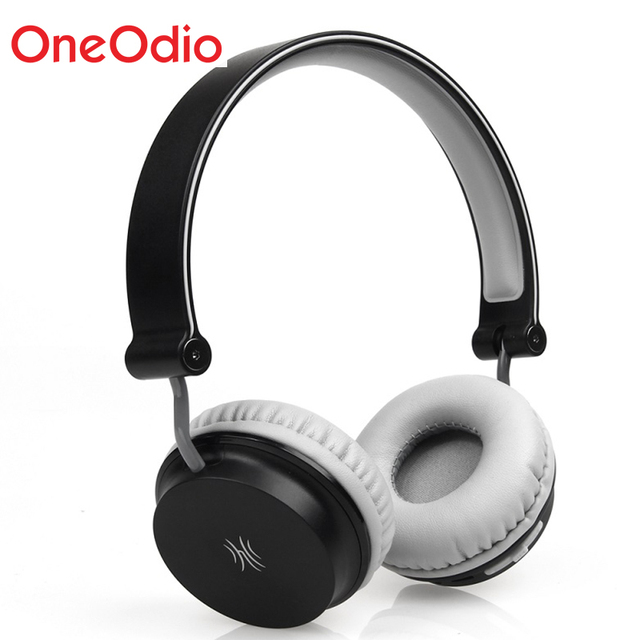 a9cd54bcb22 Oneodio Wireless Headphones Bluetooth 2.1 Headset Wired Lightweight  Foldable On Ear Stereo Headphone Handsfree Earphone With Mic