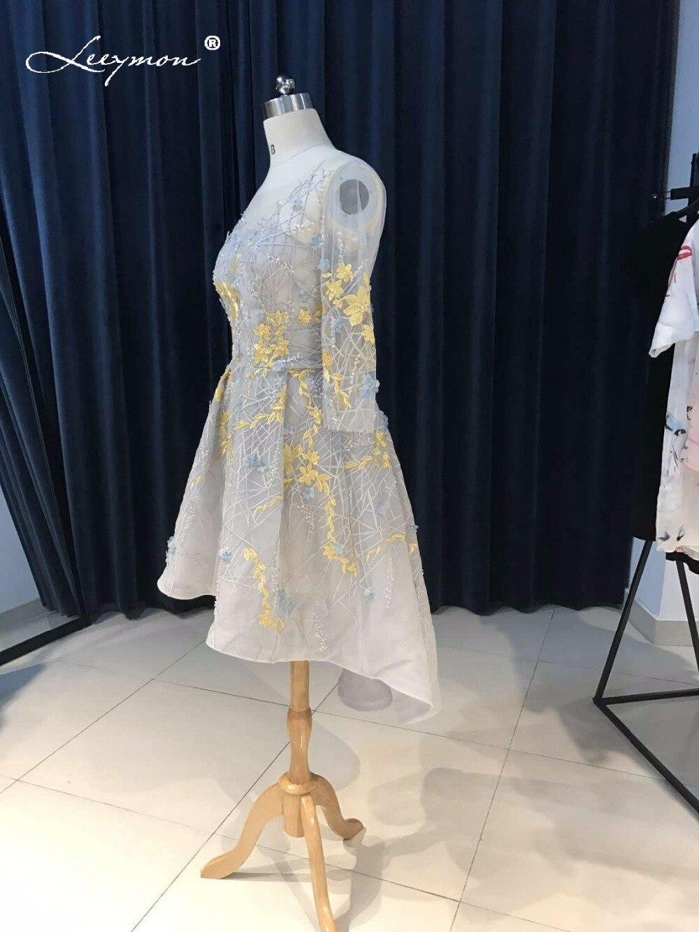Novi vrući seksi Crystal koktel haljina 2017 Backless čipka kratki - Haljina za posebne prigode - Foto 4