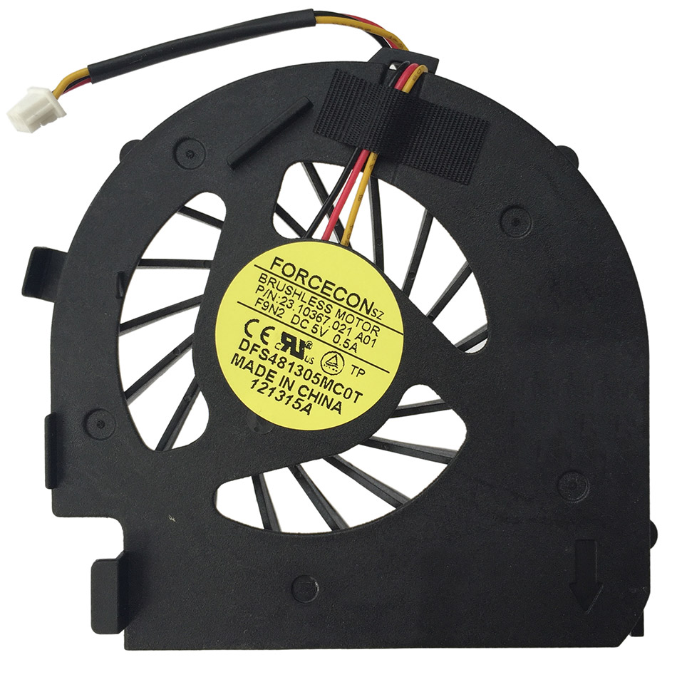 New Cpu Fan For Dell 14v N4020 N4030 M4010 P07g 2310367021 Kato N Scale Printed Circuit Board Pcb Lighting Kit Up Water Dfs481305mc0t F9n2