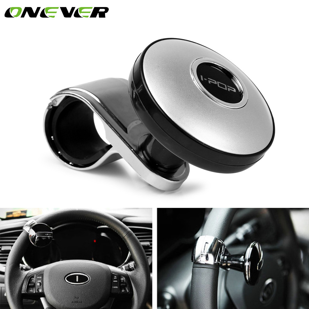 Onever Car Steering Wheel Spinner Knob Power Handle Ball Hand Control Ball Car Grip Knob Turning Helper Cars Auxiliary Booster Спиннер