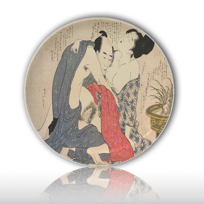 455baffcc Sejarah Asia Erotis Ilustrasi Lukisan 7 Inch Keramik Piring Posisi Seks  Pola Belajar Dish Bar Rumah Kamar Tidur Dekorasi di Mangkuk & Piring dari  Rumah ...