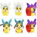 8 ''20 cm Pikachu Cosplay Altaria Lucario Sableye Macio Stuffed Plush Toy Dolls Presente Para As Crianças