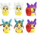 8'' 20cm Pikachu Cosplay Altaria Lucario Sableye Soft Stuffed Plush Toy Dolls Gift For Kids