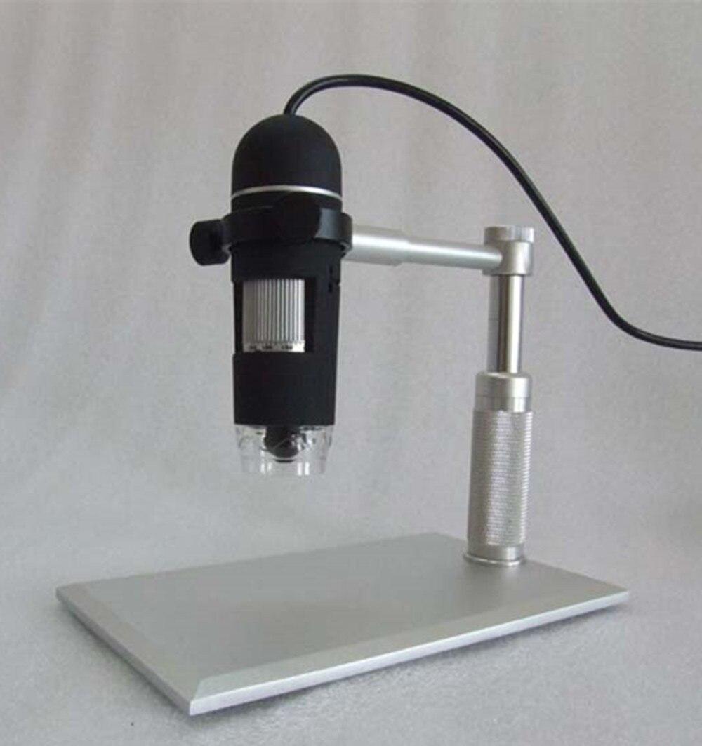 Alluminium Alliage Titulaire 2MP 1-50/200X USB Microscope Endoscope De PocheAlluminium Alliage Titulaire 2MP 1-50/200X USB Microscope Endoscope De Poche