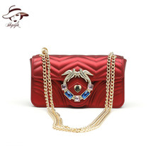 Woman Swallow Bag 2018 New Pattern Single Shoulder Bag Summer Color Crossbody Bag Day Clutch Lady Totes Commuter Bag Mini Purse