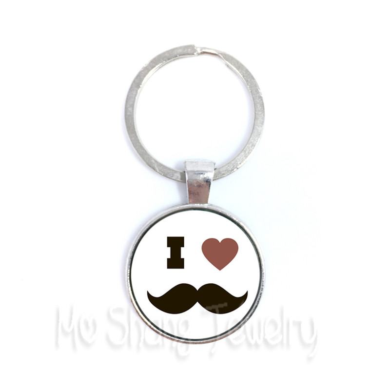 5PCS/lot Great Father Men Keychain 15 Styles Keyring For Keys High Quality Happy Fathers Day Gifts Handmade Jewelry Wholesale
