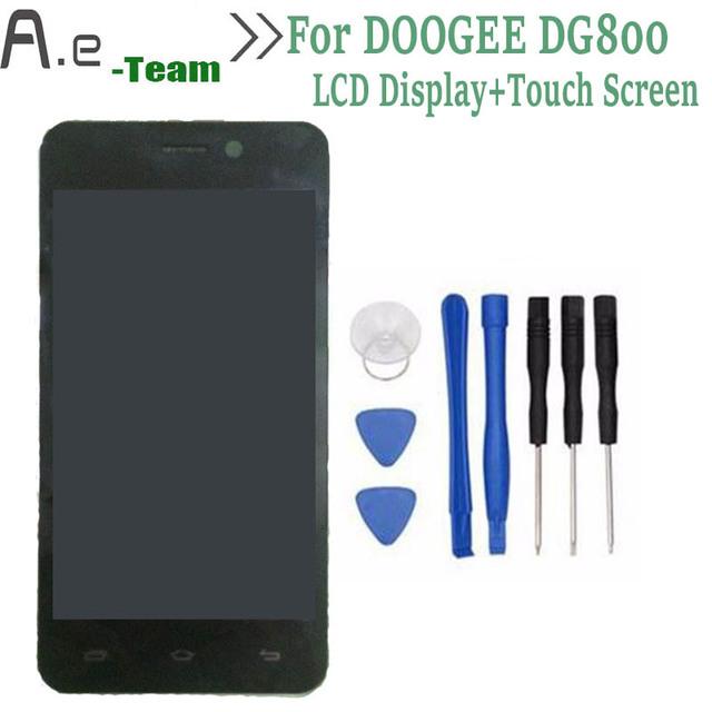 """De alta Qualidade Para DOOGEE DG800 Display LCD + Touch Screen Substituição Digitador Para DOOGEE DG800 4.5 """"Smartphone + Free ferramentas"""