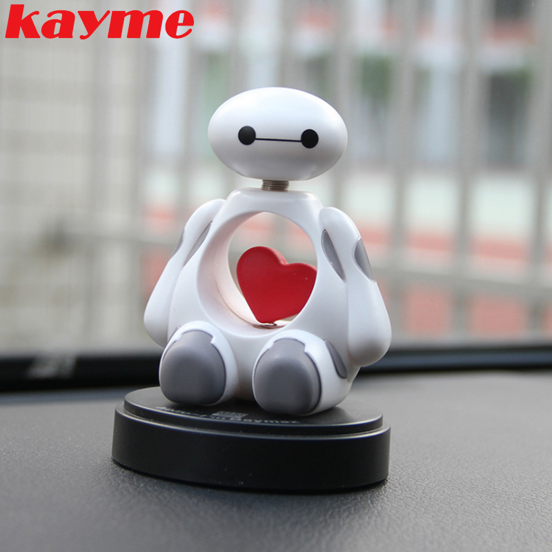 Kayme cute car accessories interior toys ornament bobblehead