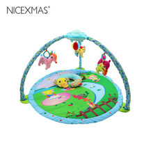 1PC Baby Cushion Fitness Fitness Crawling Soft Developing Mat Games Carpet Play Frame for Newborn Baby Infant(China)