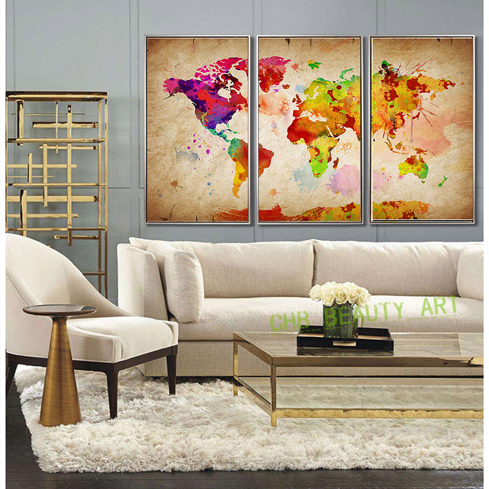 Large Lion Animal Canvas Print Oil Painting Wall Picture For Part 95