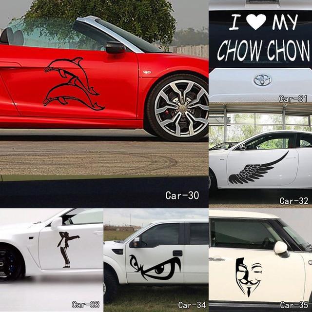 Lustige Kreative Cartoon Katze Dekoration Auto Aufkleber Auto