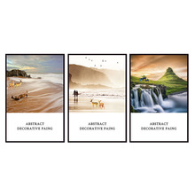 Factory wholesale (No Framed) Landscape poster series Canvas Print On Printing Wall Pictures 12YM-A-646