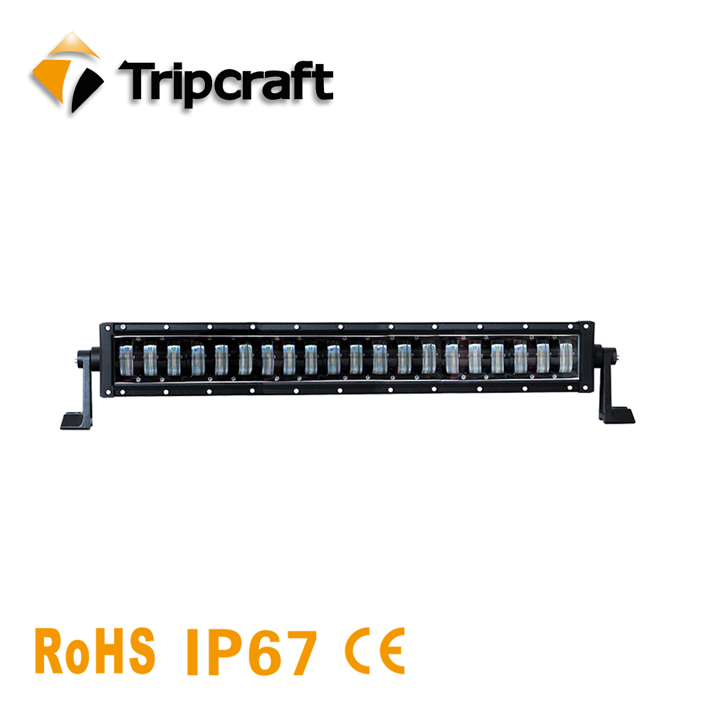 24.8 inch 160W 12800LM LED CAR LIGHT BAR WHOLESALE for Indicators Motorcycle Driving Offroad Boat Car Combo White Fog ramp