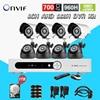 8ch 960h AHD Cctv Video Surveillance Security Camera System 8pcs 700tvl Outdoor Night Vision Camera Dvr