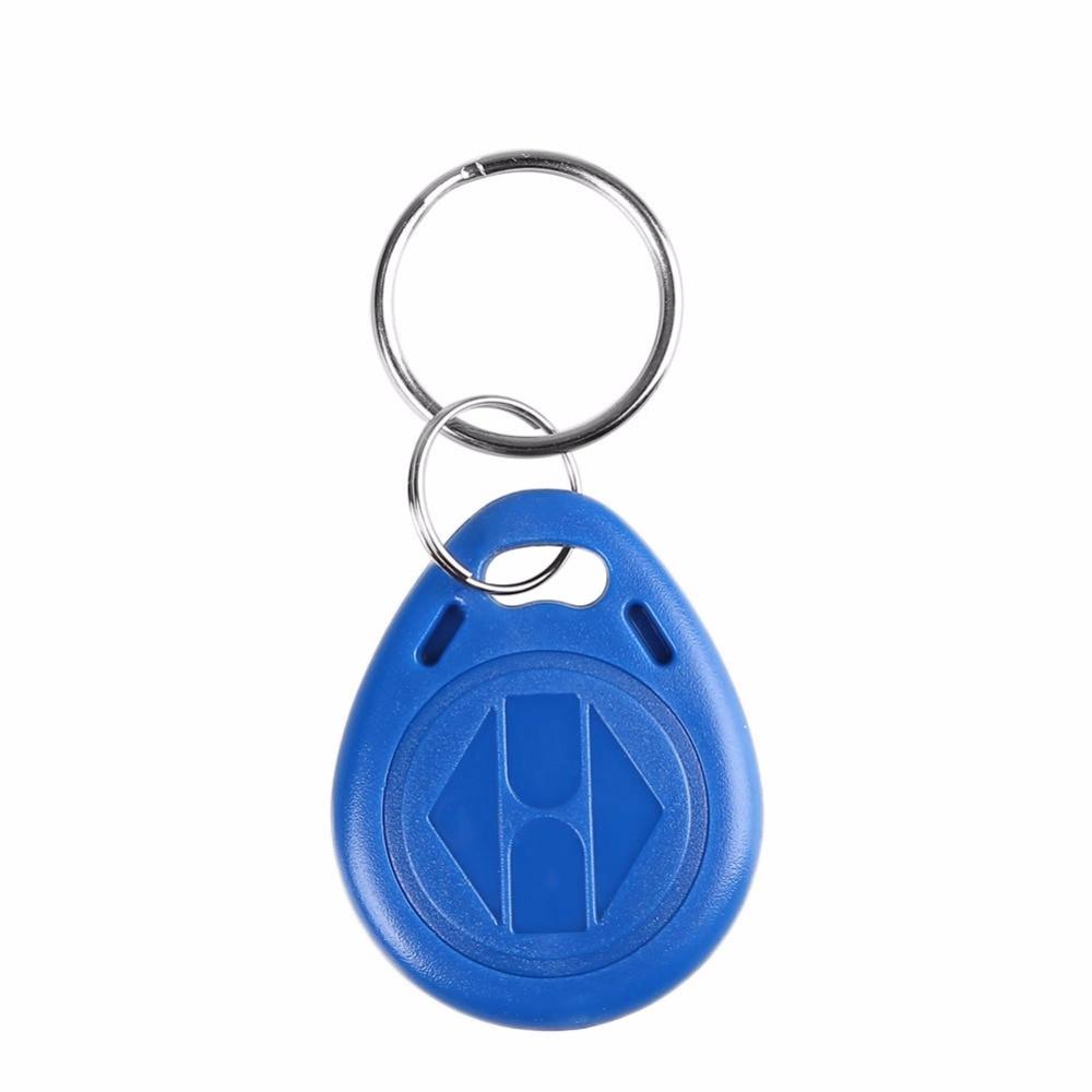 Intelligente Elektronik FäHig 10 StÜcke Rfid Nähe Id Tür Eintrag Access Control Key Token Ring Tag Fob Keyfobs 125 Khz/13,56 Mhz Gute QualitäT