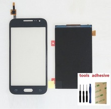 Touch Screen Digitizer Sensor + LCD Display Screen For Samsung Galaxy Core Prime SM-G360F G360F G360H + Adhesive + Kits