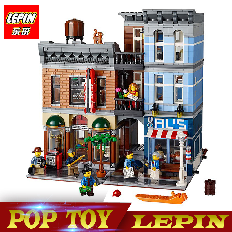 New Lepin 15011 2262pcs Series The Detective's Office Set Avengers Set Assemble Building Blocks Compatible legoed 10197 Toys lepin 15011 parsian creator expert city street resturant minifigure avengers set assemble building blocks toys compatible legeod