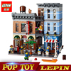 New Lepin 15011 2262pcs Series The Detective S Office Set Avengers Set Assemble Building Blocks Compatible