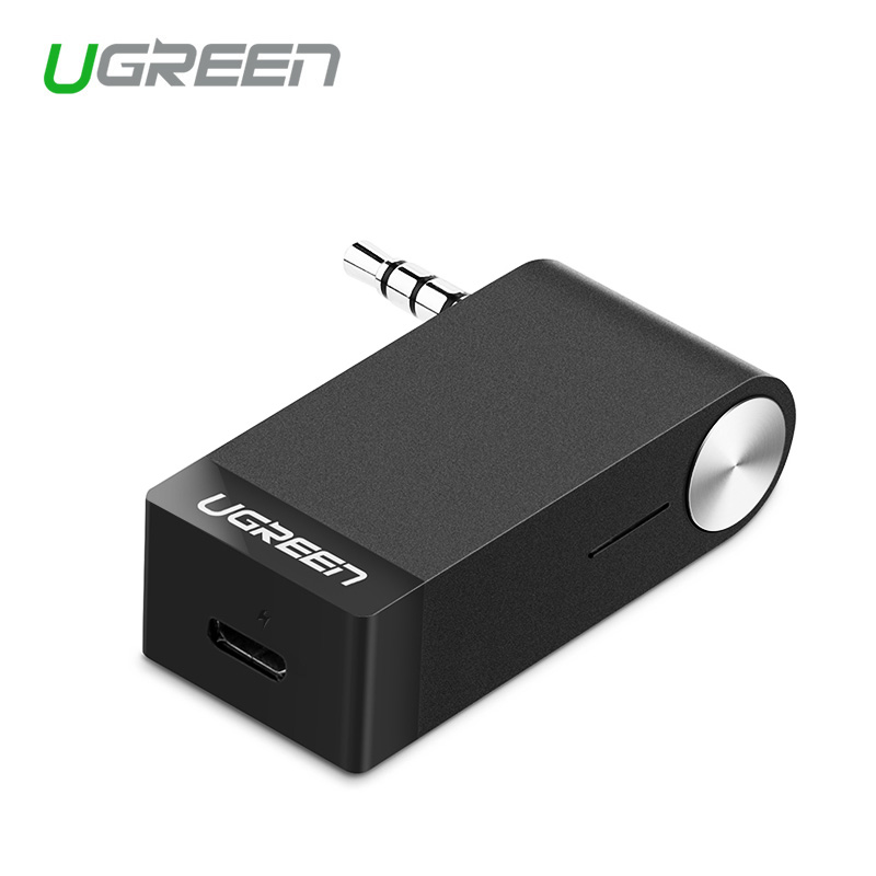 все цены на Ugreen MM114 3.5mm Car Bluetooth Audio Music Receiver Adapter Auto AUX Streaming wireless headset speaker онлайн