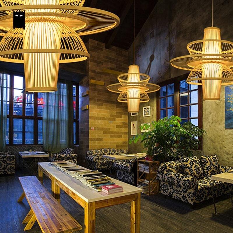 Lights & Lighting Pendant Lights American Vintage Pendant Lights E27 Retro Glass Lampshade Pendant Lamp For Living Room Bar Bedroom Shop Lustres Fixtures Decor Year-End Bargain Sale